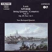 Spohr: String Quartets Vol 5 / New Budapest Quartet