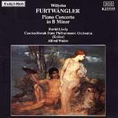 Furtwaengler: Piano Concerto in b / Lively, Walter