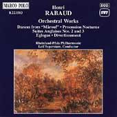 Rabaud: Orchestral Works / Segerstam, Rhineland-Pfalz PO