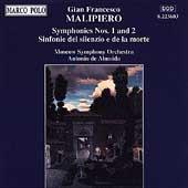 Malipiero: Symphonies 1 & 2 / Almeida, Moscow SO