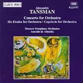 Tansman: Concerto for Orchestra, etc / Antonio de Almeida