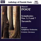 Poot: Symphonies nos 3, 5, 7, etc / Devreese, Moscow SO