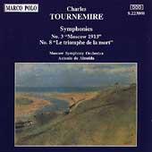 Tournemire: Symphonies no 3 & 8 / Almeida, Moscow Symphony