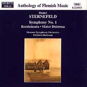 Sternefeld: Symphony no 1, etc / Devreese, Moscow Symphony