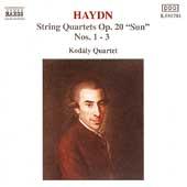 Haydn: String Quartets, Op 20 Nos 1-3