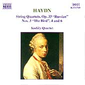 Haydn: String Quartets, Op 33 Nos 3, 4 & 6