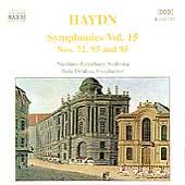 Haydn: Symphonies, Vol.15