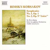 Rimsky-Korsakov: Symphonies Nos 1 & 2