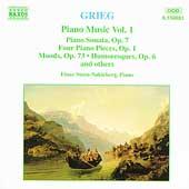 Grieg: Piano Music Vol 1 / Einar Steen-Noekleberg