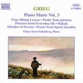 Grieg: Piano Works, Vol. 3