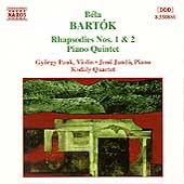 Bartok: Chamber Works