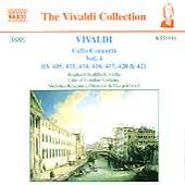 Vivaldi: Cello Concerti Vol 4 / Wallfisch, Kraemer