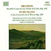Brahms: Double Concerto; Schumann: Cello Concerto