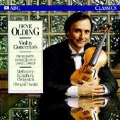 Martin, Milhaud, Barber: Violin Concertos / Dene Olding