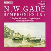 Gade: Symphonies 1 & 2 / Schonwandt, Collegium Musicum