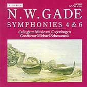 Gade: Symphonies 4 & 6 / Schonwandt, Collegium Musicum