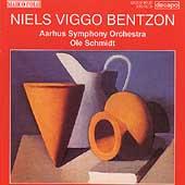 Bentzon: Symphonies no 3 & 4 / Schmidt, Aarhus SO