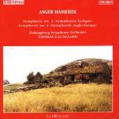 Hamerik: Symphonies no 3 & 4 / Dausgaard, Helsingborg SO
