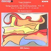 Vagn Holmboe: String Quartets Vol 6 / Kontra Quartet