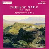 Gade: Symphonies 3 & 5 / Schonwandt, Collegium Musicum