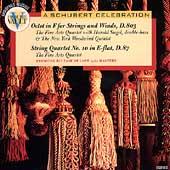 FROM THE VAULT:A SCHUBERT CELEBRATION:OCTET D.803/STRING QUARTET NO.10:THE FINE ARTS QUARTET/HAROLD SIEGEL(cb)/MEMBERS OF THE NEW YORK WOODWIND QUINTET