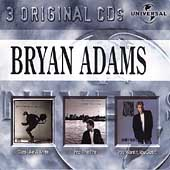 3 Original Cds: Cuts Like A Knife/Into The Fire/You Want It You Got It