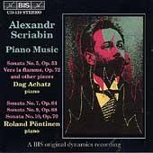 Scriabin: Piano Music / Dag Achatz, Roland Poentinen