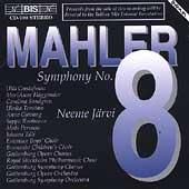 Mahler: Symphony no 8 / Neeme Jaervi, Gustafsson, et al
