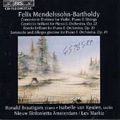 Mendelssohn: Orchestral Works