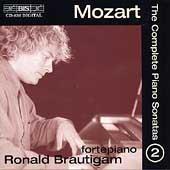 ロナルド・ブラウティハム/Mozart: The Complete Piano Sonatas Vol 2 / Ronald Brautigam [BISCD836]