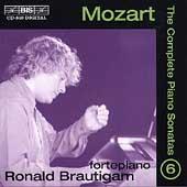 ロナルド・ブラウティハム/Mozart: The Complete Piano Sonatas Vol 6 / Ronald Brautigam [BISCD840]