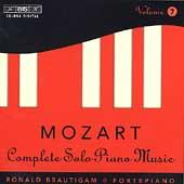 ロナルド・ブラウティハム/Mozart: Complete Solo Piano Music Vol 7 / Ronald Brautigam [BISCD894]
