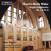 Widor: Organ Symphonies nos 2 & 8 / Hans Fagius
