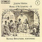 ロナルド・ブラウティハム/Haydn: Anno 1776 Sonatas Vol 2 / Ronald Brautigam [BISCD1094]