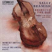 Beamish: Bridging the Day - Works for Cello and Piano / Irvine, Beamish