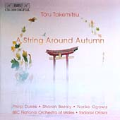 Takemitsu: A string Around Autumn / Dukes, Bezaly, Ogawa, BBCNOW, Otaka