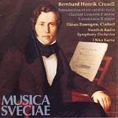 Crusell: Clarinet Concerto, Concertante / Rosengren, Kamu