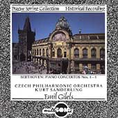 Prague Spring Collection - Beethoven: Concertos / Gilels