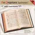 Ars Gregoriana - Supplementum I - Mass of St. Martin