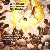 Handel: Dixit Dominus, Nisi Dominus / O'Reilly, et al