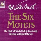 Bach: The Six Motets / Marlow, Trinity College Choir