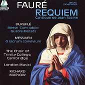 "Faure: Requiem;  Durufle: Messe ""Cum jubilo"";  Messiaen"