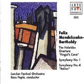 Mendelssohn: Symphonies no 1 & 4, Hebrides Overture / Pople