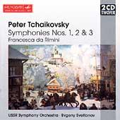 Tchaikovsky: Symphonies 1-3, Francesca da Rimini / Svetlanov