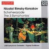 Rimsky-Korsakov: Scheherazade, The 3 Symphonies / Svetlanov