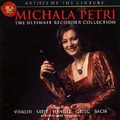 Michala Petri -The Ultimate Recorder Collection :Vivaldi/Satie/Handel/etc