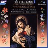 The Byrd Edition Vol 1 /Carwood, Skinner, Cardinall's Musick