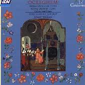 Ockeghem: Missa Cuiusvis Toni, Missa Quinti Toni, etc / Edward Wickham(cond), Clerk's Group
