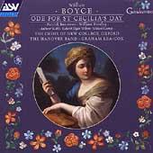 Boyce: Ode for St Cecilia's Day / Lea-Cox, Hanover Band