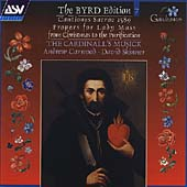 The Byrd Edition Vol 7 /Carwood, Skinner, Cardinall's Musick